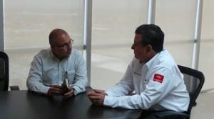 César Gutiérrez con el Contador Público Antonio Gutiérrez Jardón