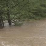 Así luce el rio sabinas a las dos de tarde de este martes 17 de septiembre