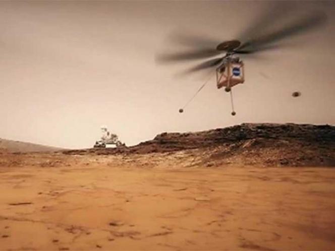 La NASA enviará un helicóptero para sobrevolar Marte en 2020