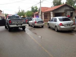 Policias en búsqueda