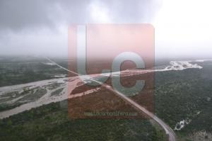 Caen 8 pulgadas de lluvia en Serranía