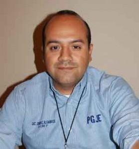 Julio César Ramirez Ramirez titular de la Agencia Investigadora del Ministerio Público