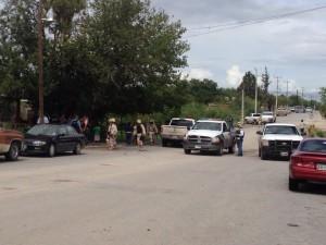 La situación provocó que Valle Torres, huyera con dirección a la colonia Sarabia municipio de Sabinas,