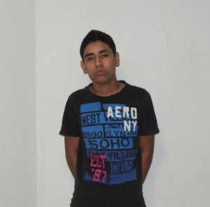Francisco Javier Flores González 18 años alias el pancho