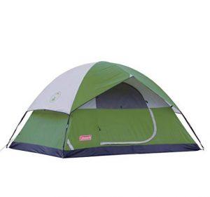Sundome para 4 personas. Una tienda de campaña única para acampar.